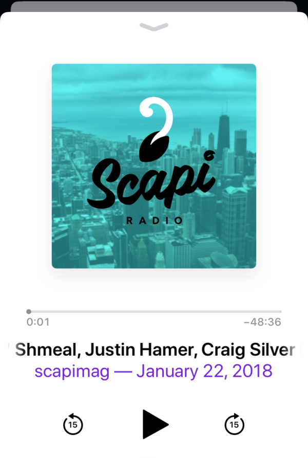 Shmeal on the Scapi Radio Podcast