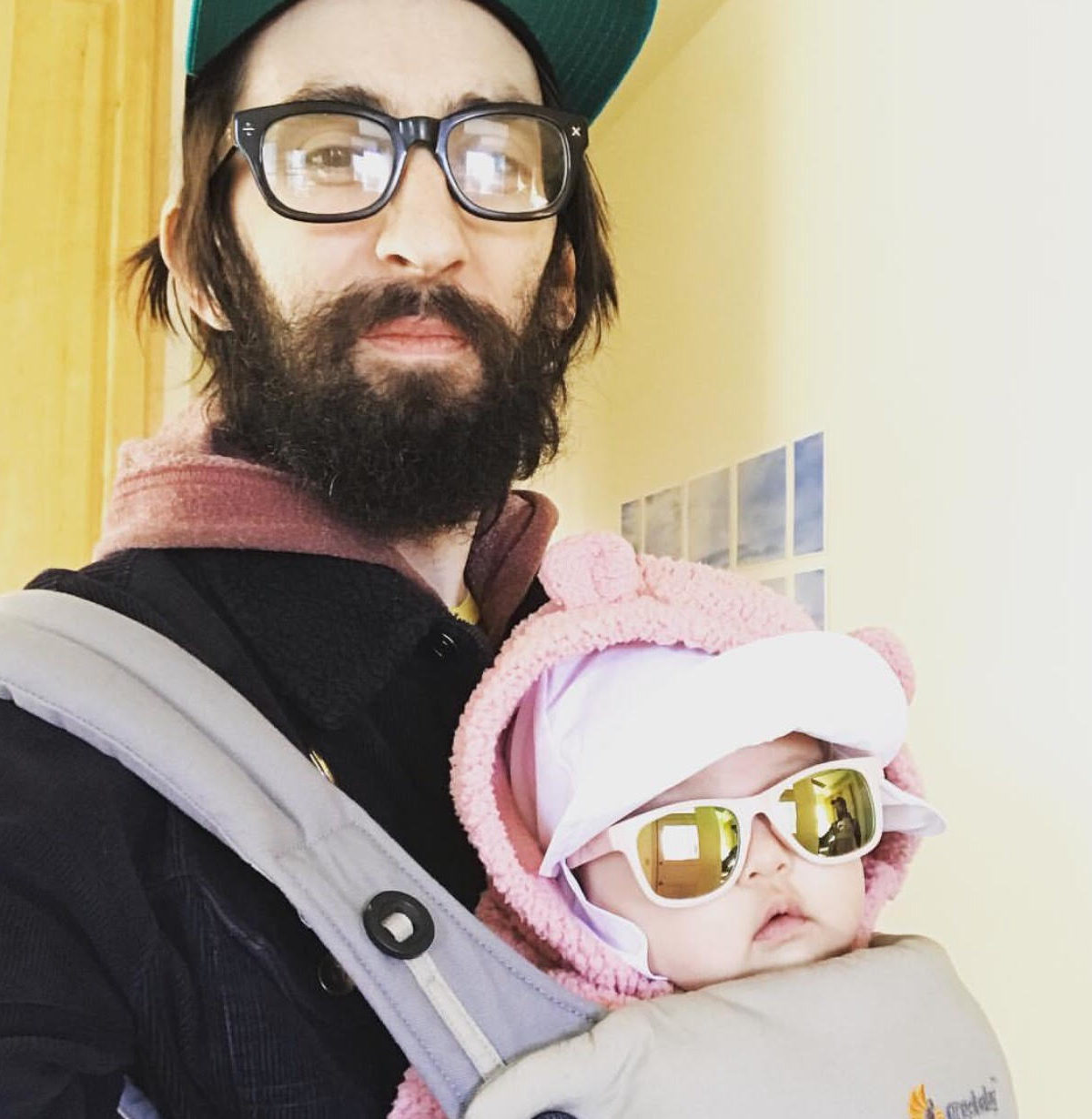 Dave and his daughter, Boogie